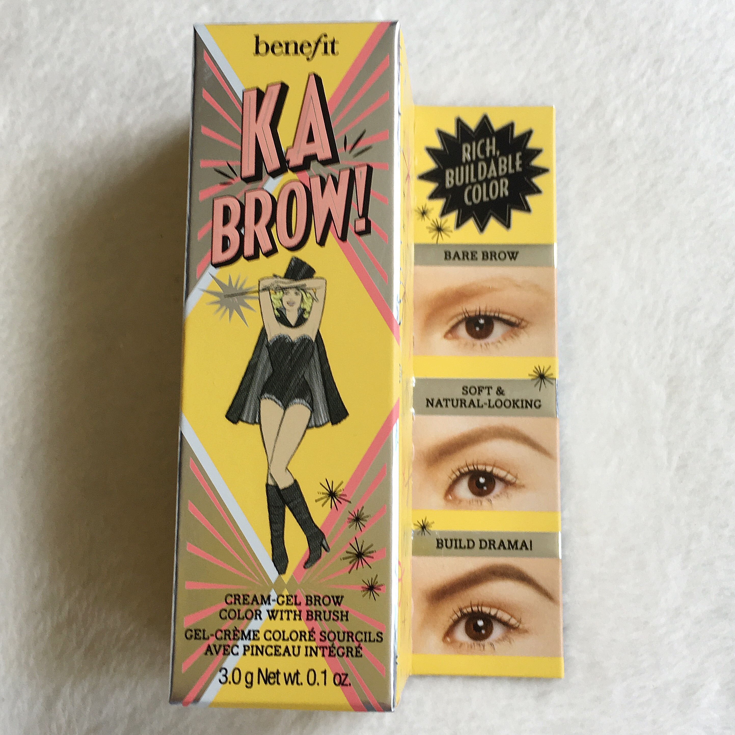 Benefit Ka Brow Cream Gel Eyebrow Color W Brush Beautori
